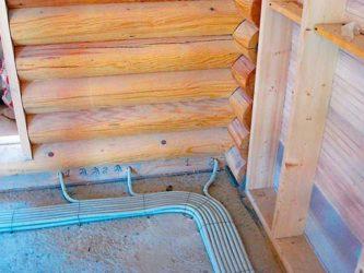 Какая проводка должна быть в деревянном доме?