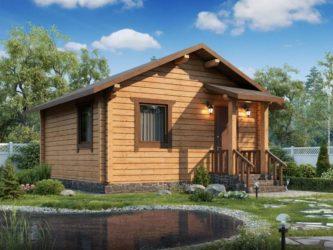 Дачный домик своими руками: красивые проекты