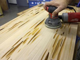 Шлифовка древесины своими руками