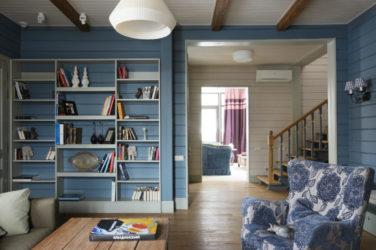 Как красить вагонку внутри дома краской?