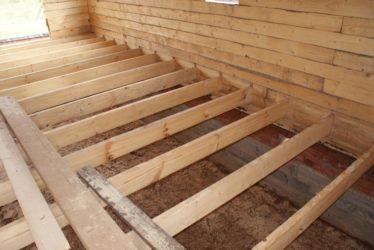 Как делать деревянные полы в частном доме?