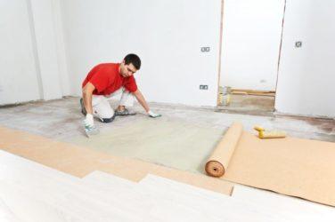 Как стелить паркетную доску на бетон?