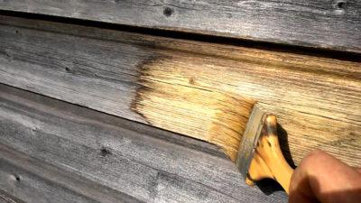Отбеливание древесины перекисью водорода