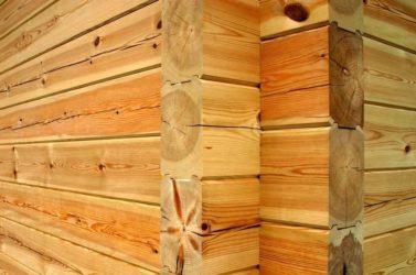 Усадка дома из профилированного бруса естественной влажности